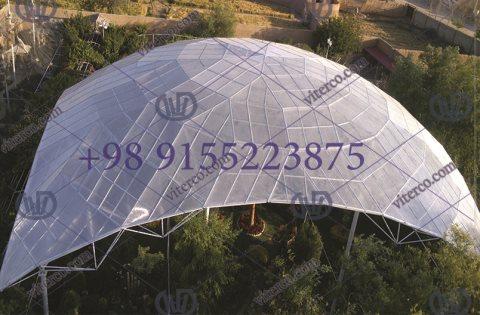 گروه سازه فضایی ویتر | گروه سازه فضایی ویتر، مجری سازه فضایی و ...گنبد سازه فضایی اصفهان